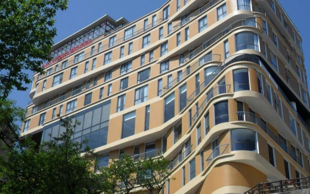 Amazing Hotel Sapa вид на фасад