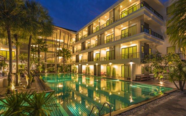 Отель The Pago Design Hotel Phuket Таиланд, Пхукет - отзывы, цены и фото номеров - забронировать отель The Pago Design Hotel Phuket онлайн вид на фасад