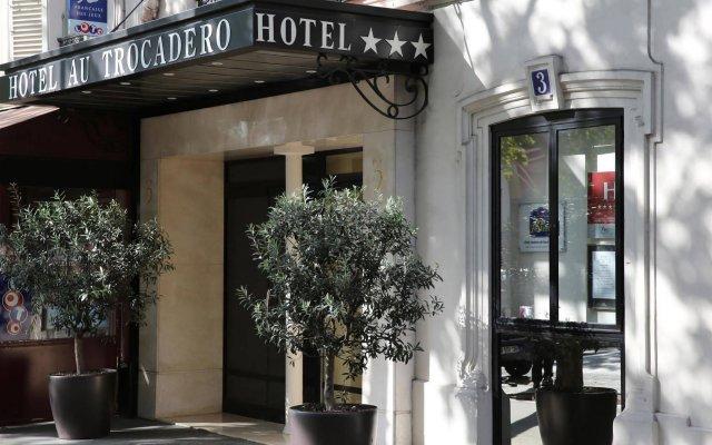 Отель Best Western Au Trocadero вид на фасад
