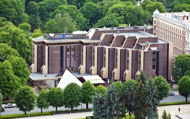 Отель Radisson Blu Ridzene Латвия, Рига - 9 отзывов об отеле, цены и фото номеров - забронировать отель Radisson Blu Ridzene онлайн вид на фасад