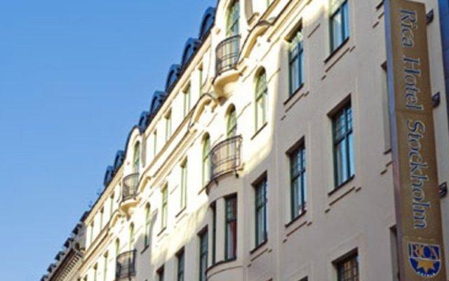Отель Scandic Klara вид на фасад