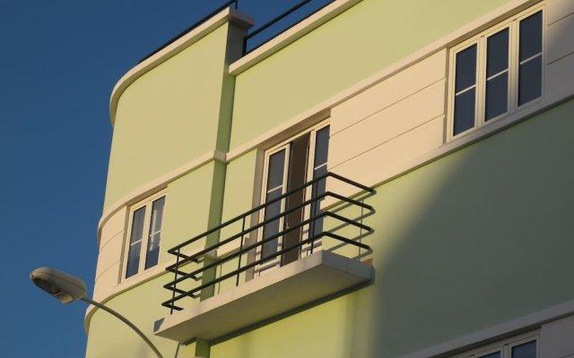 Апартаменты Aguilera Apartment Belém вид на фасад