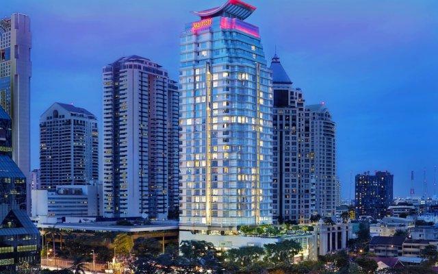 Отель Sathorn Vista, Bangkok - Marriott Executive Apartments Таиланд, Бангкок - отзывы, цены и фото номеров - забронировать отель Sathorn Vista, Bangkok - Marriott Executive Apartments онлайн вид на фасад