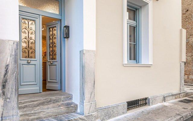 Отель A77 Suites By Andronis Афины вид на фасад