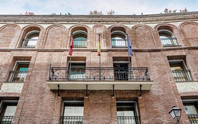 Отель Eurostars Casa de la Lírica Испания, Мадрид - 4 отзыва об отеле, цены и фото номеров - забронировать отель Eurostars Casa de la Lírica онлайн вид на фасад