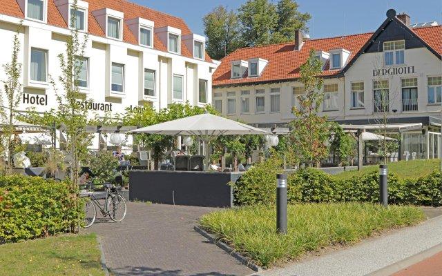Отель Best Western Plus Berghotel Amersfoort вид на фасад