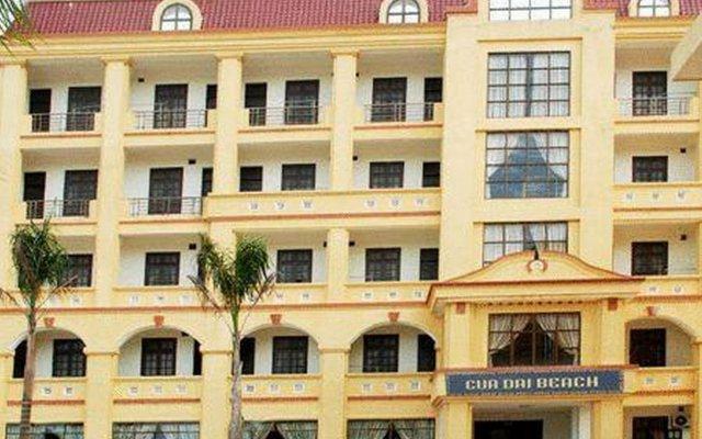 Cua Dai Beach Hotel вид на фасад