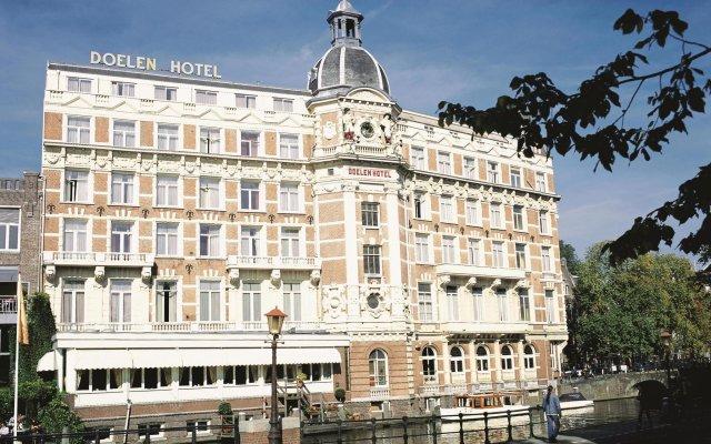 Отель Nh Collection Doelen Амстердам вид на фасад
