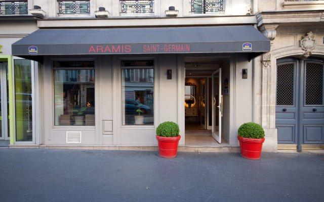 Отель Best Western Aramis Saint-Germain вид на фасад