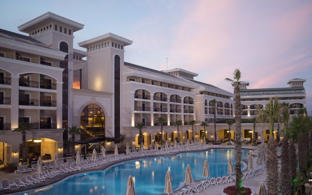 Alva Donna Exclusive Hotel & Spa – All Inclusive Богазкент вид на фасад