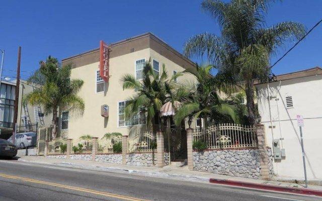 Отель Trylon Hotel - Hollywood США, Лос-Анджелес - отзывы, цены и фото номеров - забронировать отель Trylon Hotel - Hollywood онлайн вид на фасад