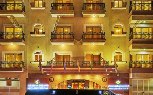 Arabian Dreams Deluxe Hotel Apartments вид на фасад