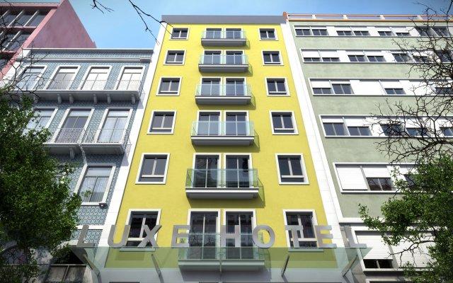 Luxe Hotel by turim hotéis вид на фасад