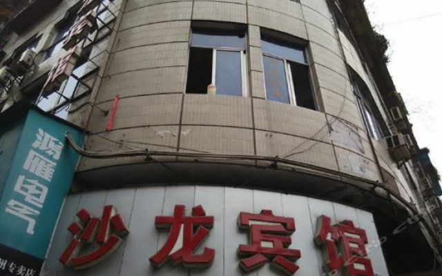 Shalong Hostel вид на фасад