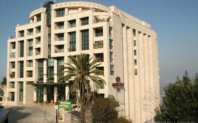 Crowne Plaza Haifa Израиль, Хайфа - отзывы, цены и фото номеров - забронировать отель Crowne Plaza Haifa онлайн вид на фасад
