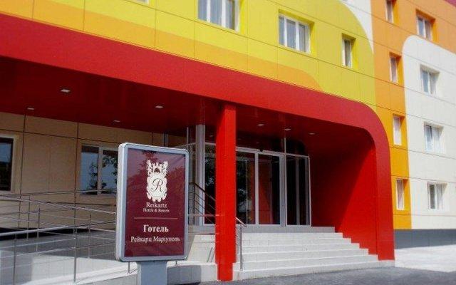 Гостиница Reikartz Мариуполь Украина, Мариуполь - отзывы, цены и фото номеров - забронировать гостиницу Reikartz Мариуполь онлайн вид на фасад