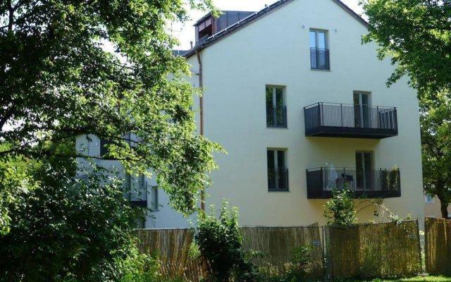 Апартаменты Paleo Finest Serviced Apartments Мюнхен вид на фасад