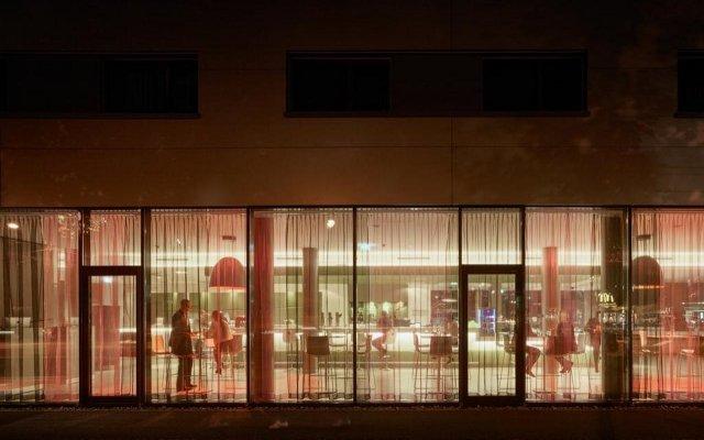 Отель roomz Vienna Prater вид на фасад