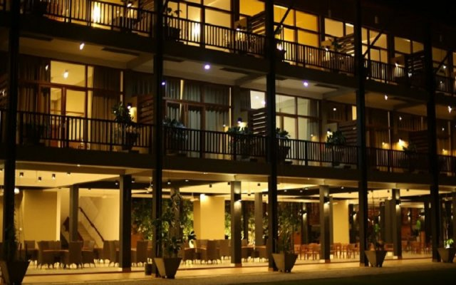Отель Minn Gee Resort Passikuda вид на фасад