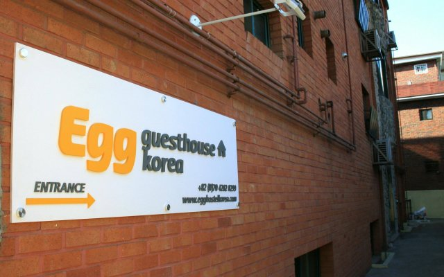 Отель Egg Guesthouse Korea вид на фасад