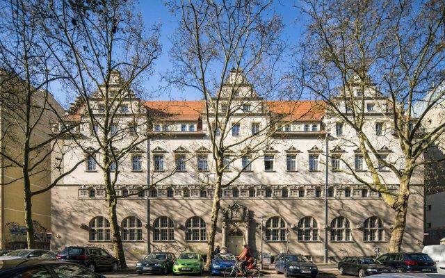 Hotel Oderberger вид на фасад