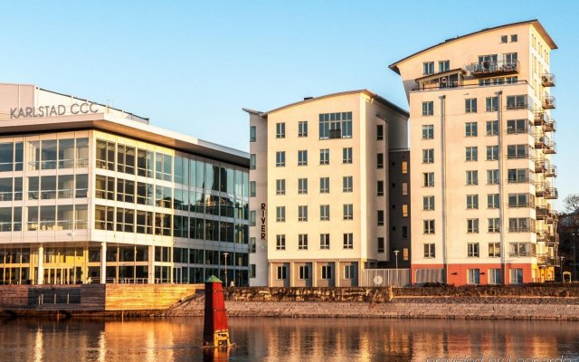 Отель First Hotel River C Швеция, Карлстад - отзывы, цены и фото номеров - забронировать отель First Hotel River C онлайн вид на фасад