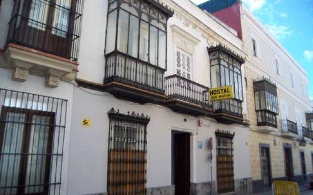 Отель Pensión San Martín Испания, Херес-де-ла-Фронтера - отзывы, цены и фото номеров - забронировать отель Pensión San Martín онлайн вид на фасад