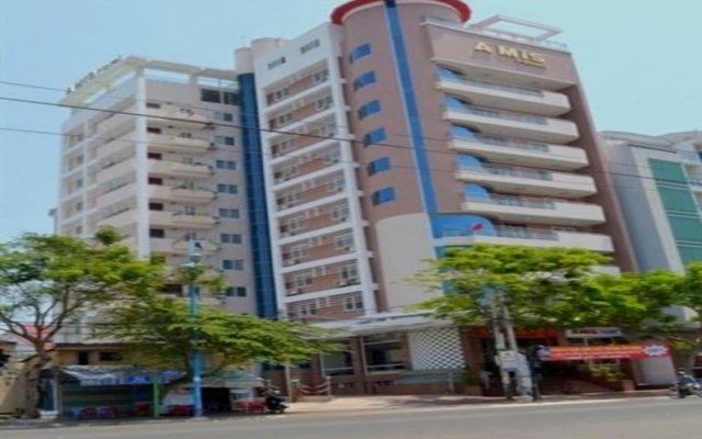 Отель Amis Hotel Вьетнам, Вунгтау - отзывы, цены и фото номеров - забронировать отель Amis Hotel онлайн вид на фасад