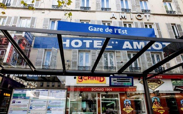 Amiot Hotel вид на фасад