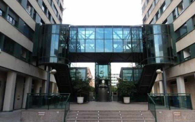 Отель Aqua Apartments Oceanográfico Испания, Валенсия - отзывы, цены и фото номеров - забронировать отель Aqua Apartments Oceanográfico онлайн вид на фасад