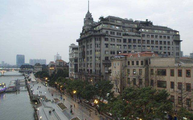 Отель Nanfang Dasha Hotel Китай, Гуанчжоу - 1 отзыв об отеле, цены и фото номеров - забронировать отель Nanfang Dasha Hotel онлайн вид на фасад