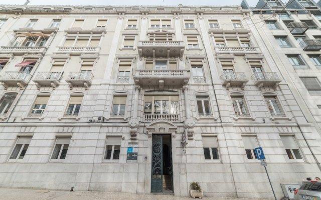 Hotel Dom Sancho I вид на фасад