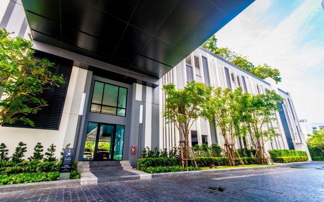 Отель Central Pattaya Residence (At The Base Condo) Паттайя вид на фасад