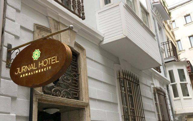 Отель Jurnal Стамбул вид на фасад