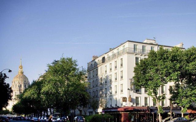 Hotel Duquesne Eiffel вид на фасад