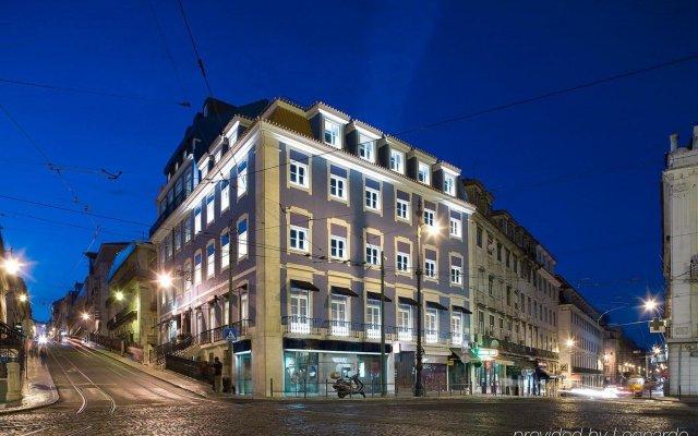 Отель Lx Boutique Hotel Португалия, Лиссабон - 1 отзыв об отеле, цены и фото номеров - забронировать отель Lx Boutique Hotel онлайн вид на фасад