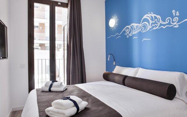 Отель Habitat Apartments ADN Испания, Барселона - отзывы, цены и фото номеров - забронировать отель Habitat Apartments ADN онлайн комната для гостей