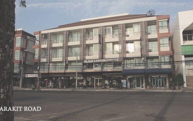 TawanWarn Hotel вид на фасад