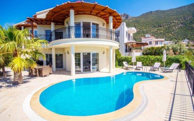 Villa Dermin Турция, Калкан - отзывы, цены и фото номеров - забронировать отель Villa Dermin онлайн вид на фасад