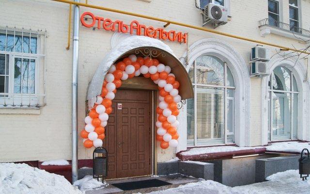 Apelsin Hotel on Dubrovka вид на фасад