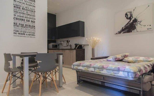 Отель Vidal One Bedroom Франция, Канны - отзывы, цены и фото номеров - забронировать отель Vidal One Bedroom онлайн комната для гостей