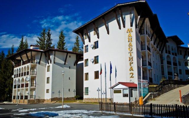 Отель The Monastery 2 Aparthotel вид на фасад