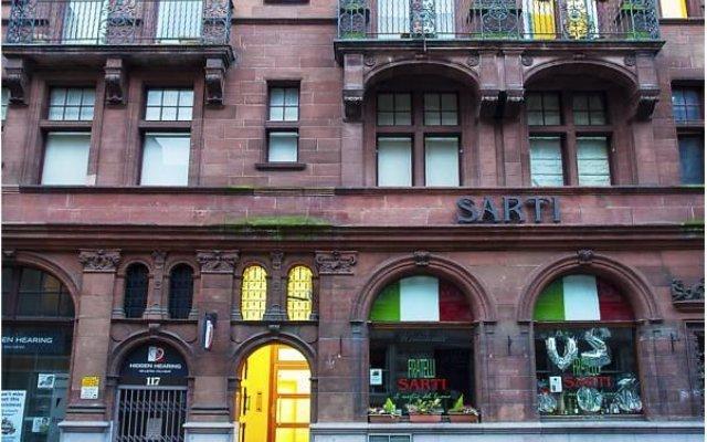Отель West George Street Apartment Великобритания, Глазго - отзывы, цены и фото номеров - забронировать отель West George Street Apartment онлайн вид на фасад