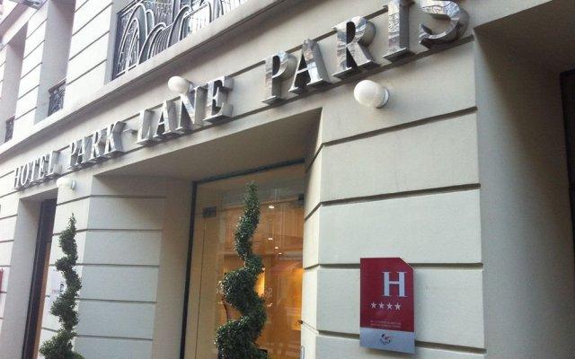Hotel Park Lane Paris вид на фасад