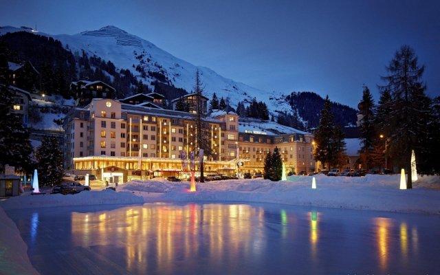 Отель Seehof Швейцария, Давос - отзывы, цены и фото номеров - забронировать отель Seehof онлайн вид на фасад