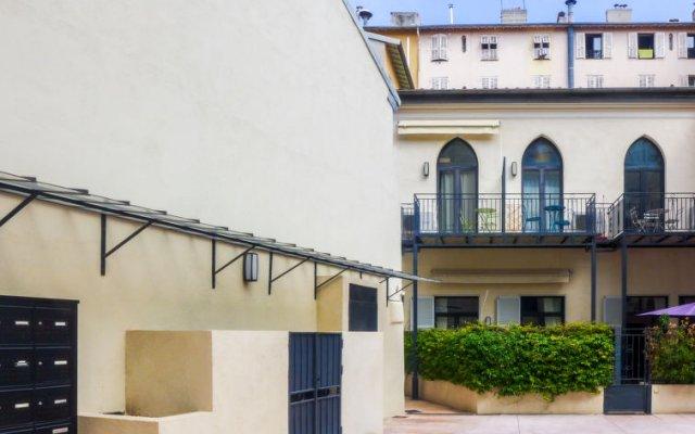 Отель Wilson Франция, Ницца - отзывы, цены и фото номеров - забронировать отель Wilson онлайн вид на фасад