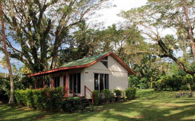Отель Maravu Taveuni Lodge вид на фасад