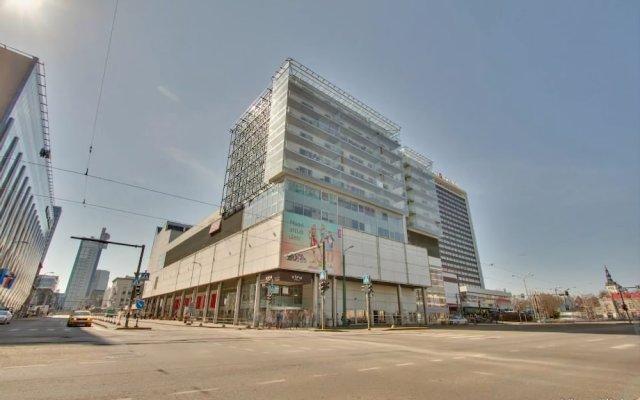 Апартаменты Daily Apartments Viru Penthouse Таллин вид на фасад