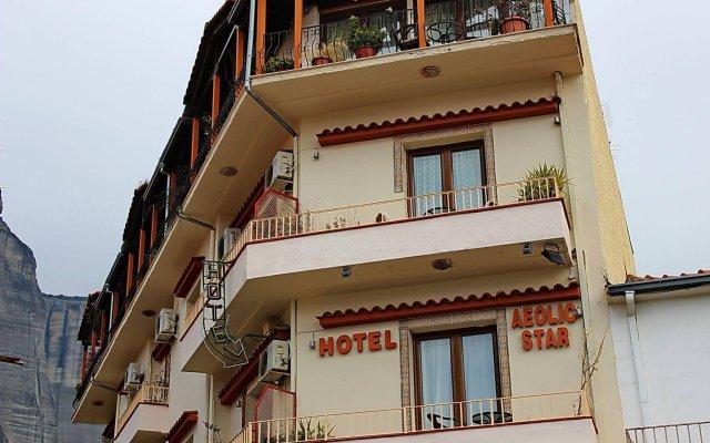 Aeolic Star Hotel вид на фасад