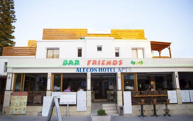 Отель Alecos Hotel Apartments Кипр, Пафос - отзывы, цены и фото номеров - забронировать отель Alecos Hotel Apartments онлайн вид на фасад